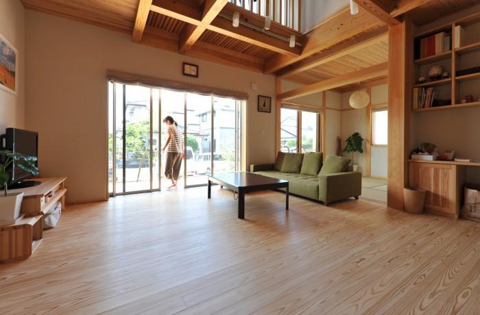 木を楽しむ家(長期優良住宅)
